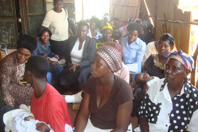 Prison mothers meeting third Monday of the month from 3-5pm in Uganda